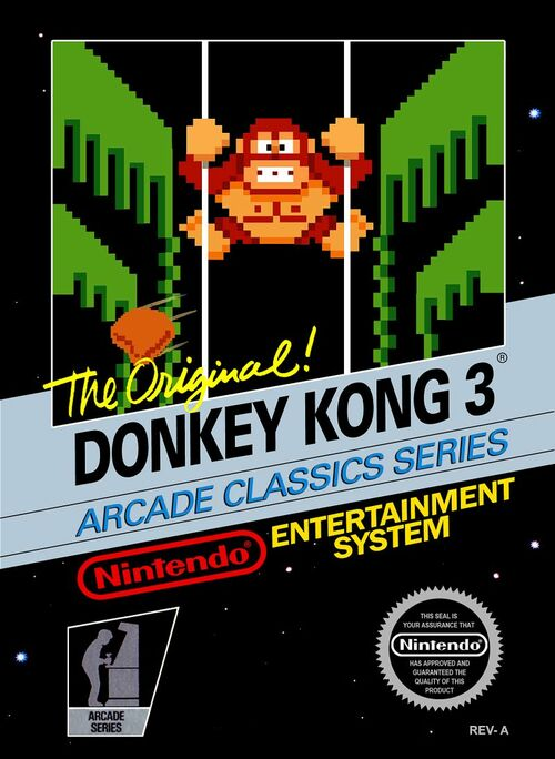 Cover for Donkey Kong 3.