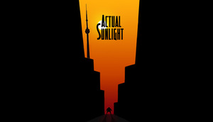 Cover for Actual Sunlight.