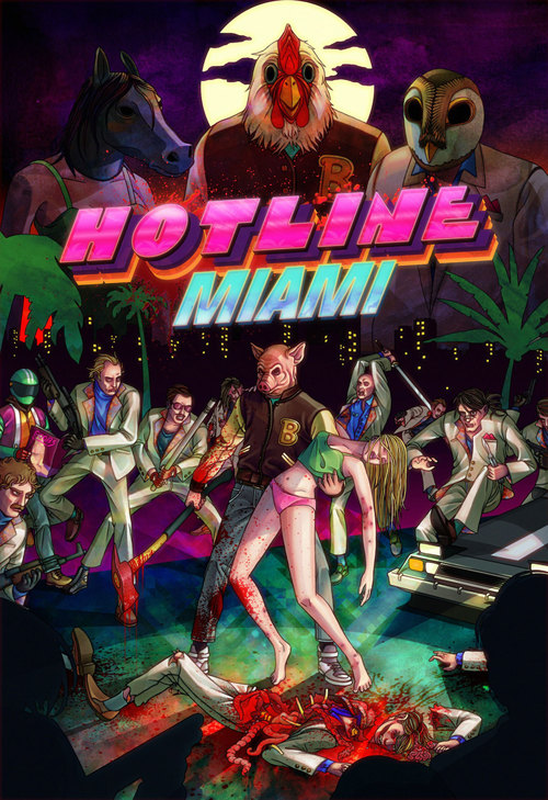 Cover for Hotline Miami.