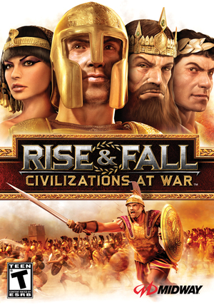 Cover for Rise and Fall: Civilizations at War.