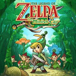 Cover for The Legend of Zelda: The Minish Cap.