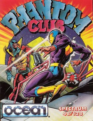 Cover for Phantom Club.