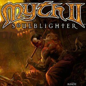 Cover for Myth II: Soulblighter.