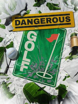 Cover for Dangerous Golf.