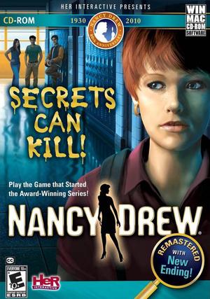 Cover for Nancy Drew: Secrets Can Kill.