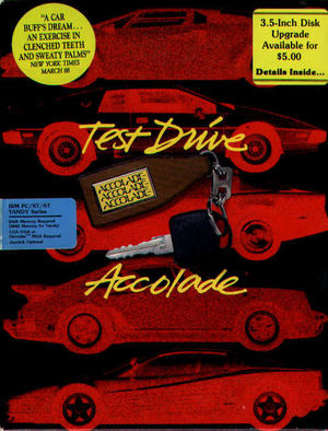 Cover for Test Drive.