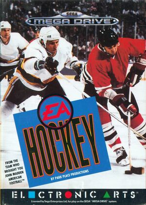 Cover for NHL Hockey.