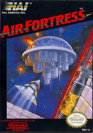 Cover for Air Fortress.