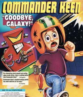 Cover for Commander Keen Episode 4: The Secret of the Oracle.