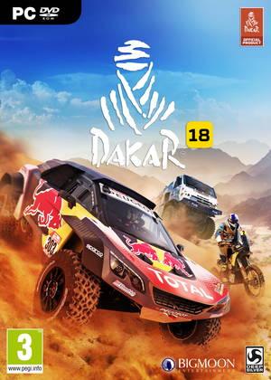 Cover for Dakar 18.