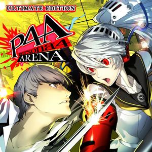 Cover for Persona 4 Arena.