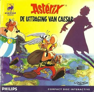 Cover for Astérix: Caesar's Challenge.
