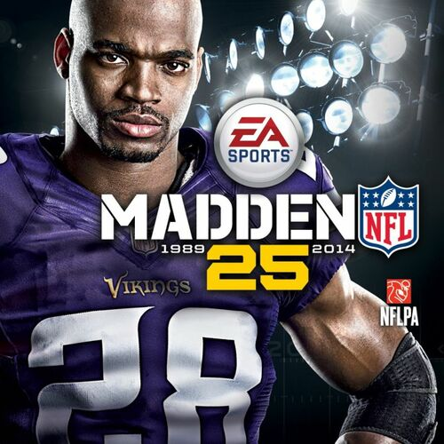 Cover for Madden NFL 25.