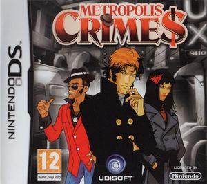 Cover for Metropolis Crimes.