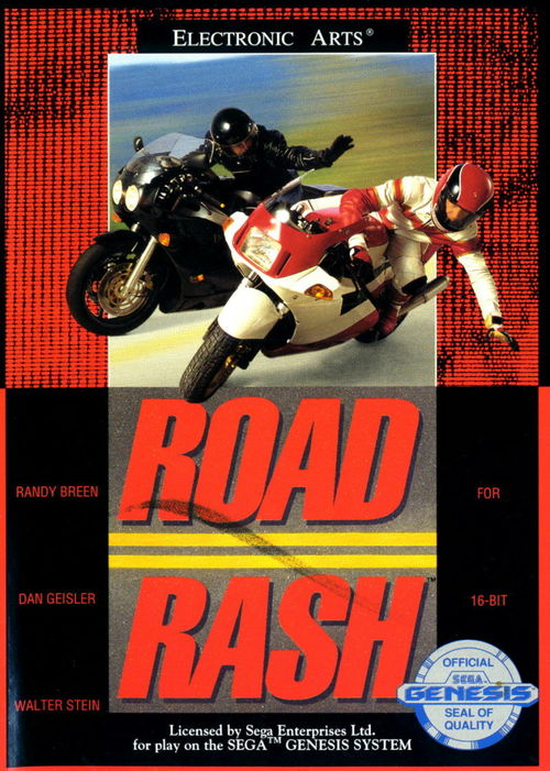 Cover for Road Rash.