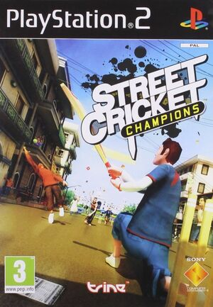 Cover for Street Cricket Champions.