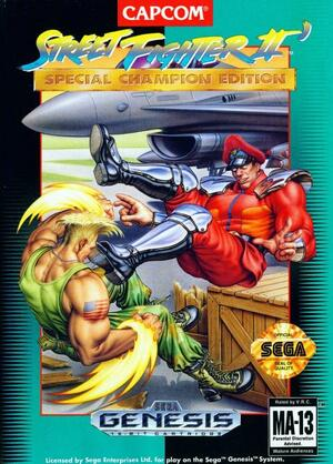 Cover for Street Fighter II: Champion Edition.