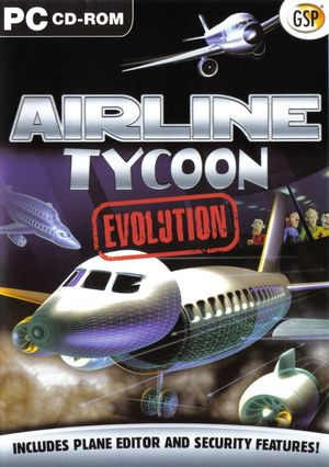 Cover for Airline Tycoon Evolution.
