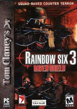 Cover for Tom Clancy's Rainbow Six 3: Raven Shield.