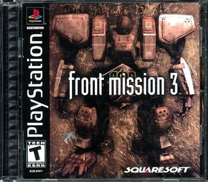 Cover for Front Mission 3.
