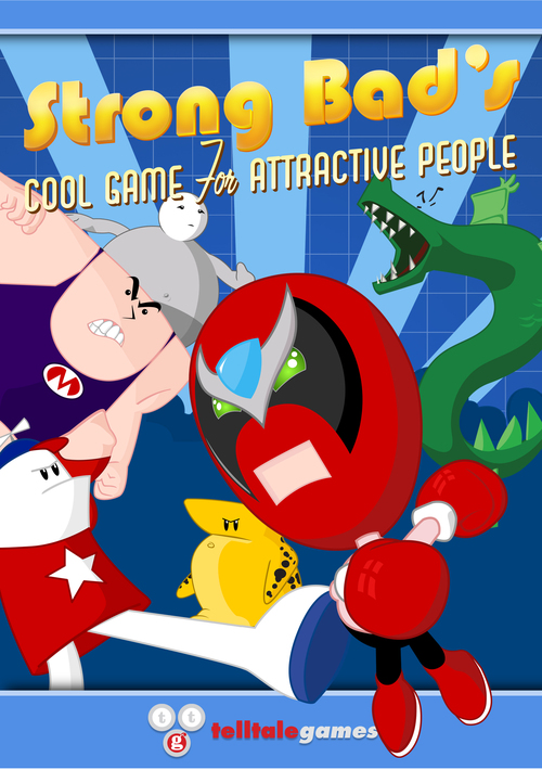 Cover for Strong Bad's Cool Game for Attractive People.