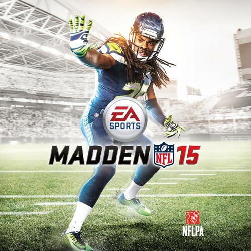 Cover for Madden NFL 15.