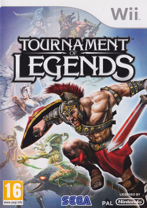 Cover for Tournament of Legends.