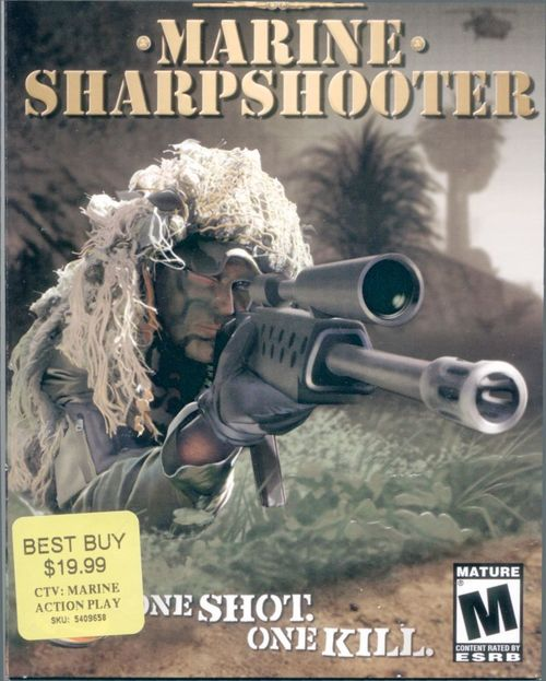 Cover for CTU: Marine Sharpshooter.