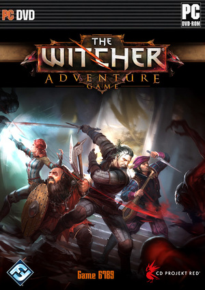 Cover for The Witcher Adventure Game.