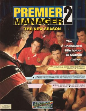 Cover for Premier Manager 2.
