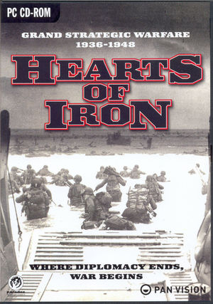 Cover for Hearts of Iron.