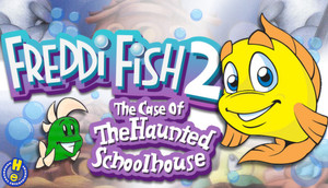 Cover for Freddi Fish 2: The Case of the Haunted Schoolhouse.