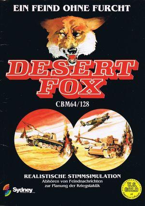 Cover for Desert Fox.