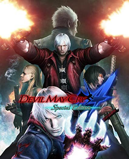Cover for Devil May Cry 4: Special Edition.