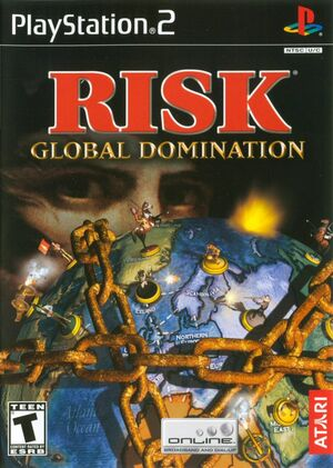 Cover for Risk: Global Domination.