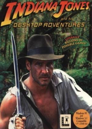 Cover for Indiana Jones and His Desktop Adventures.