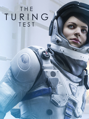 Cover for The Turing Test.