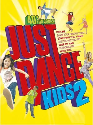 Cover for Just Dance Kids 2.