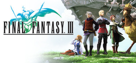 Cover for Final Fantasy III.