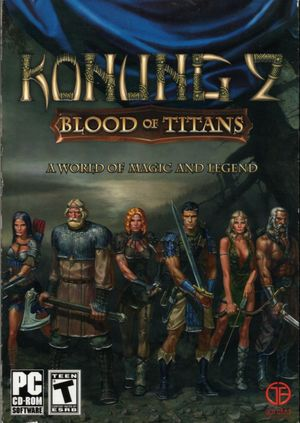 Cover for Konung 2: Blood of Titans.