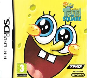 Cover for SpongeBob's Truth or Square.