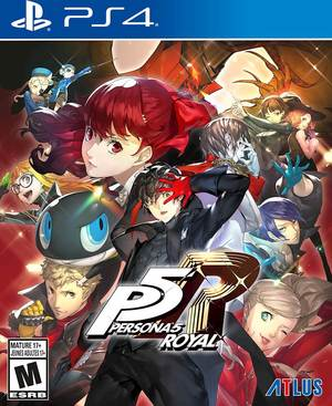 Cover for Persona 5 Royal.