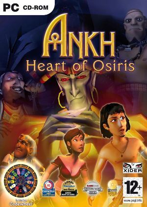 Cover for Ankh: Heart of Osiris.