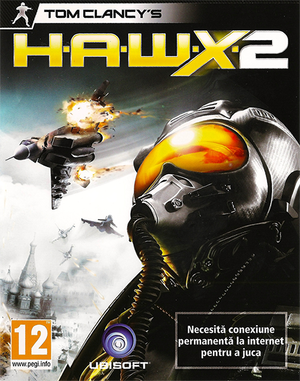 Cover for Tom Clancy's H.A.W.X 2.