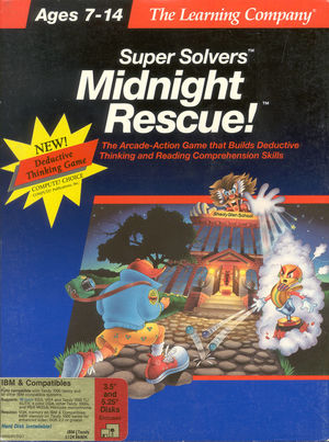 Cover for Midnight Rescue!.