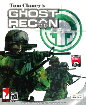 Cover for Tom Clancy's Ghost Recon.