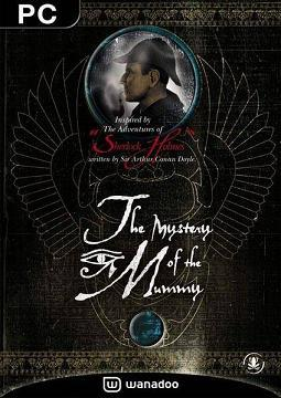 Cover for Sherlock Holmes: The Mystery of the Mummy.