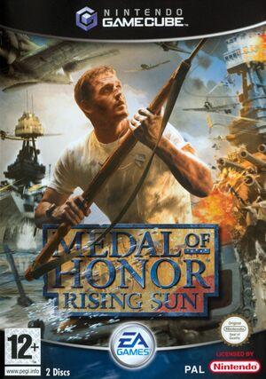 Cover for Medal of Honor: Rising Sun.