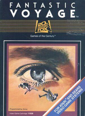 Cover for Fantastic Voyage.