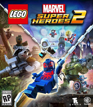 Cover for Lego Marvel Super Heroes 2.